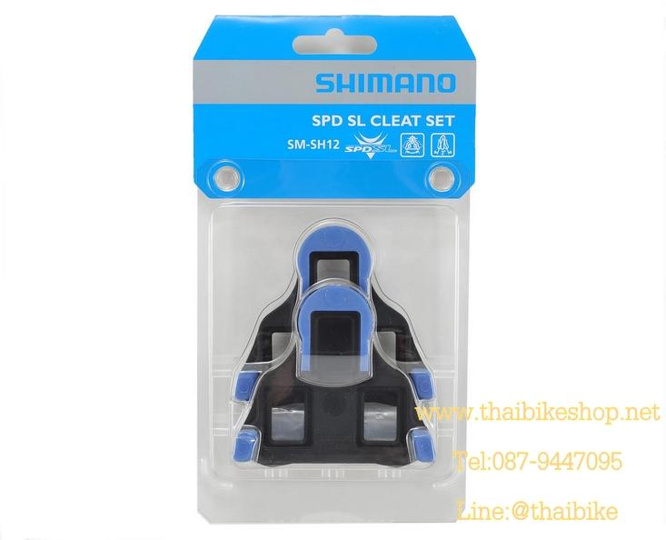 คลิ๊ปติดพื้นรองเท้า Cleat Sets บันใดเสือหมอบ, SM-SH12, สีฟ้า