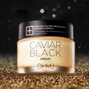 Dr.MJ Caviar Black Cream 50g ช่วยให้ผิวดูอ่อนวัย ลดเลือนริ้วรอย