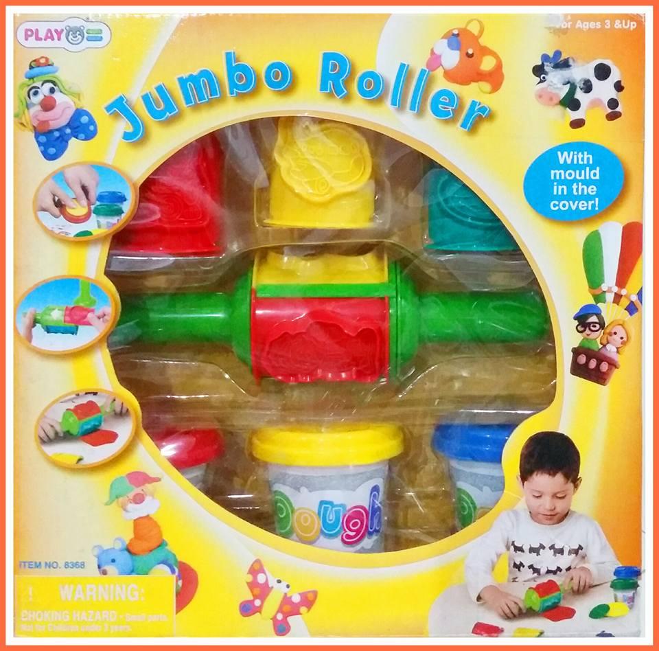 Jumbo roll playgo