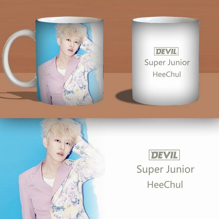แก้วมัค SUPER JUNIOR : DEVIL ฮีชอล