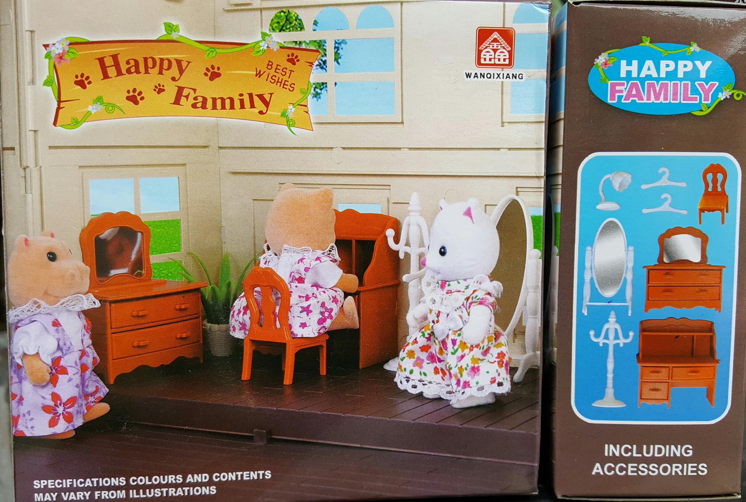 เฟอร์นิเจอร์บ้านตุ๊กตากระต่าย 007ส่งฟรี