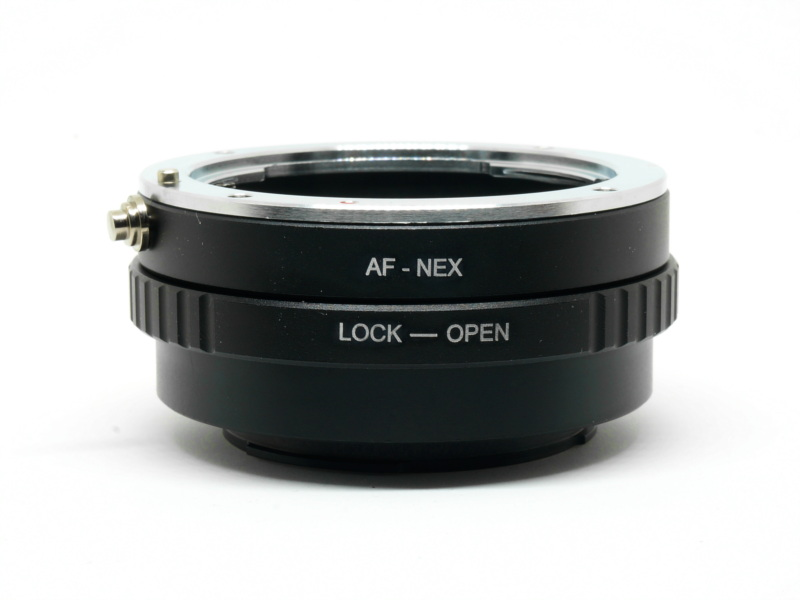 AF-NEX MA-NEX Adapter Sony Minolta A Mount Lens to Sony NEX E FE Camera