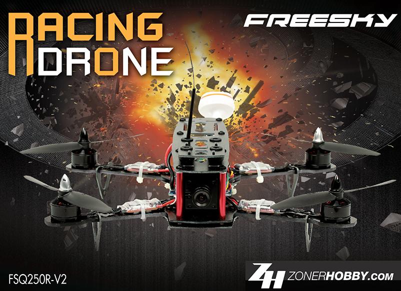 FSQ250R-V2 racing drone