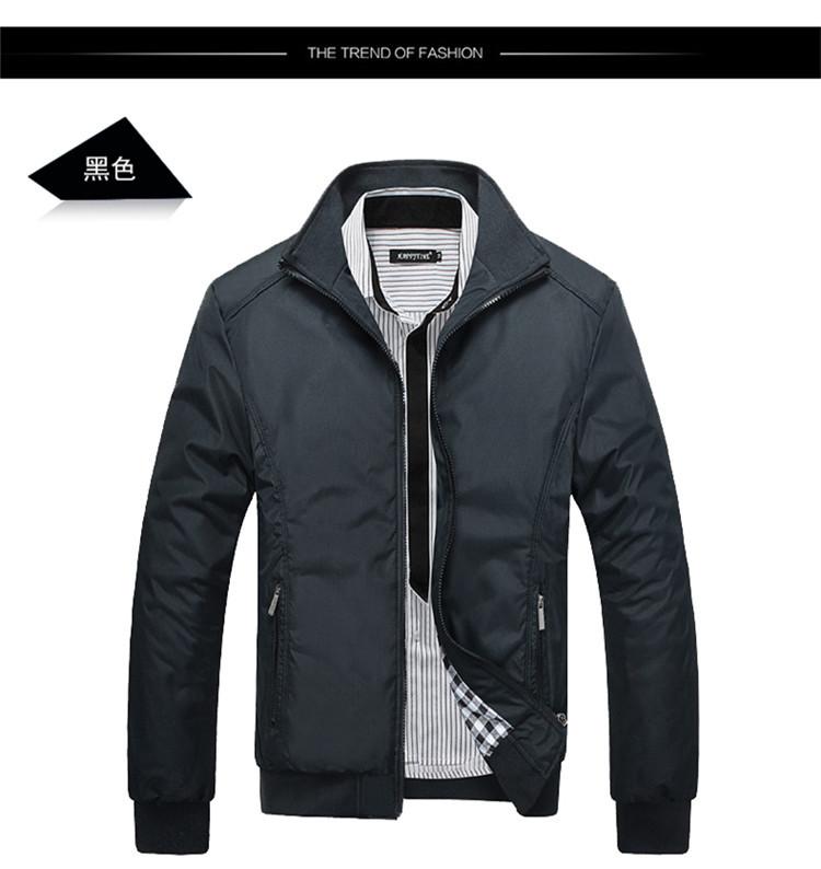 fashion แจ็คเก็ตกันหนาว สีดำ (รอสินค้า15-20วัน)