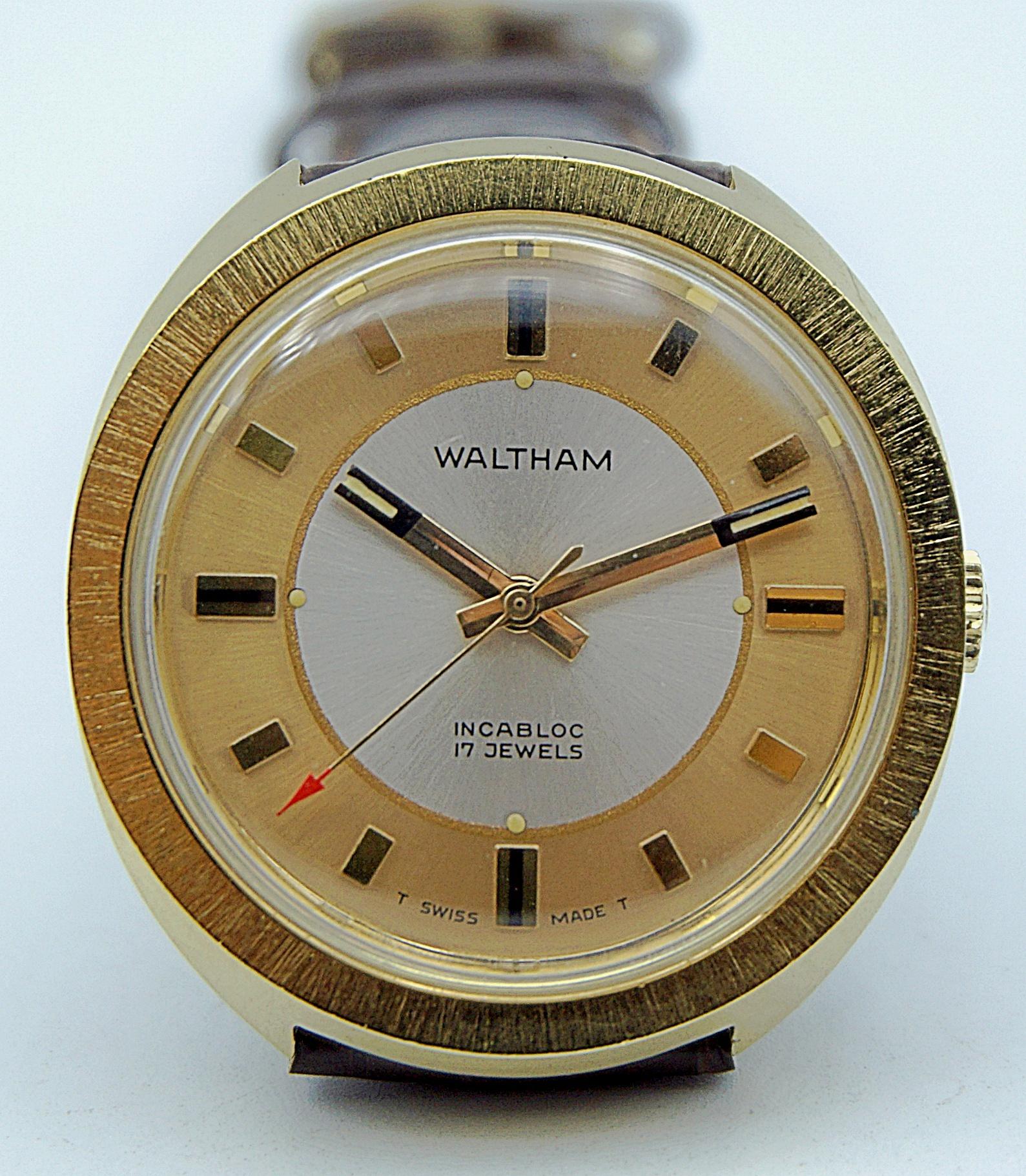 นาฬิกาเก่า WALTHAM ไขลาน