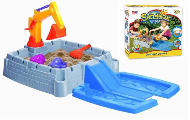 ส่งฟรีพัสดุ !! กระบะทรายและอุปกรณ์สำหรับเด็ก