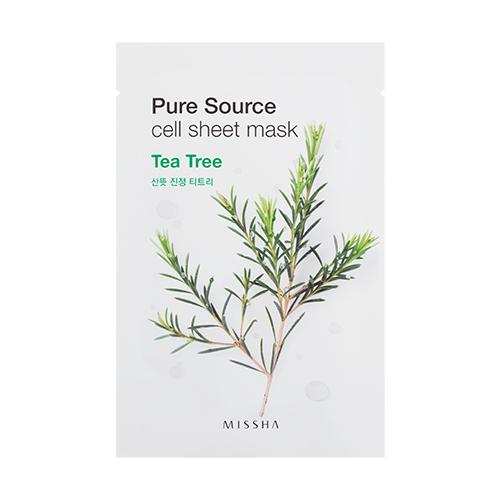 Missha Pure Source Cell Sheet Mask 21g #Tea Tree