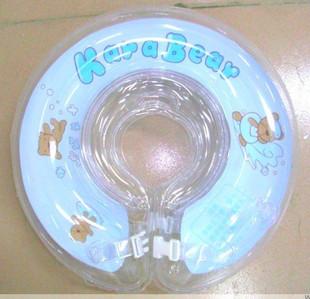 ห่วงยางช่วยว่ายน้ำสำหรับเด็กเล็ก (แบบสวมคอ) ลายหมี-สีฟ้า Size M...
