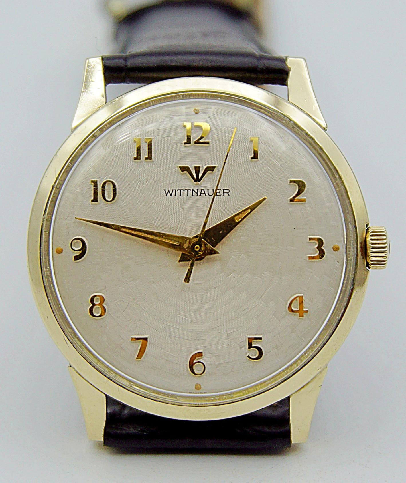 นาฬิกาเก่า WITTNAUER BY LONGINES ไขลาน