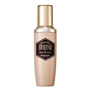 Skinfood Royal Honey Propolis Serum In Foundation SPF45 PA+++ #2 Natural Skin แถมแปรงลงรองพื้น