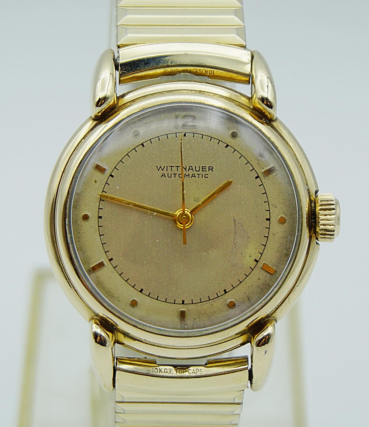 นาฬิกาเก่า WITTNAUER BY LONGINES ออโตเมติกครึ่งรอบ