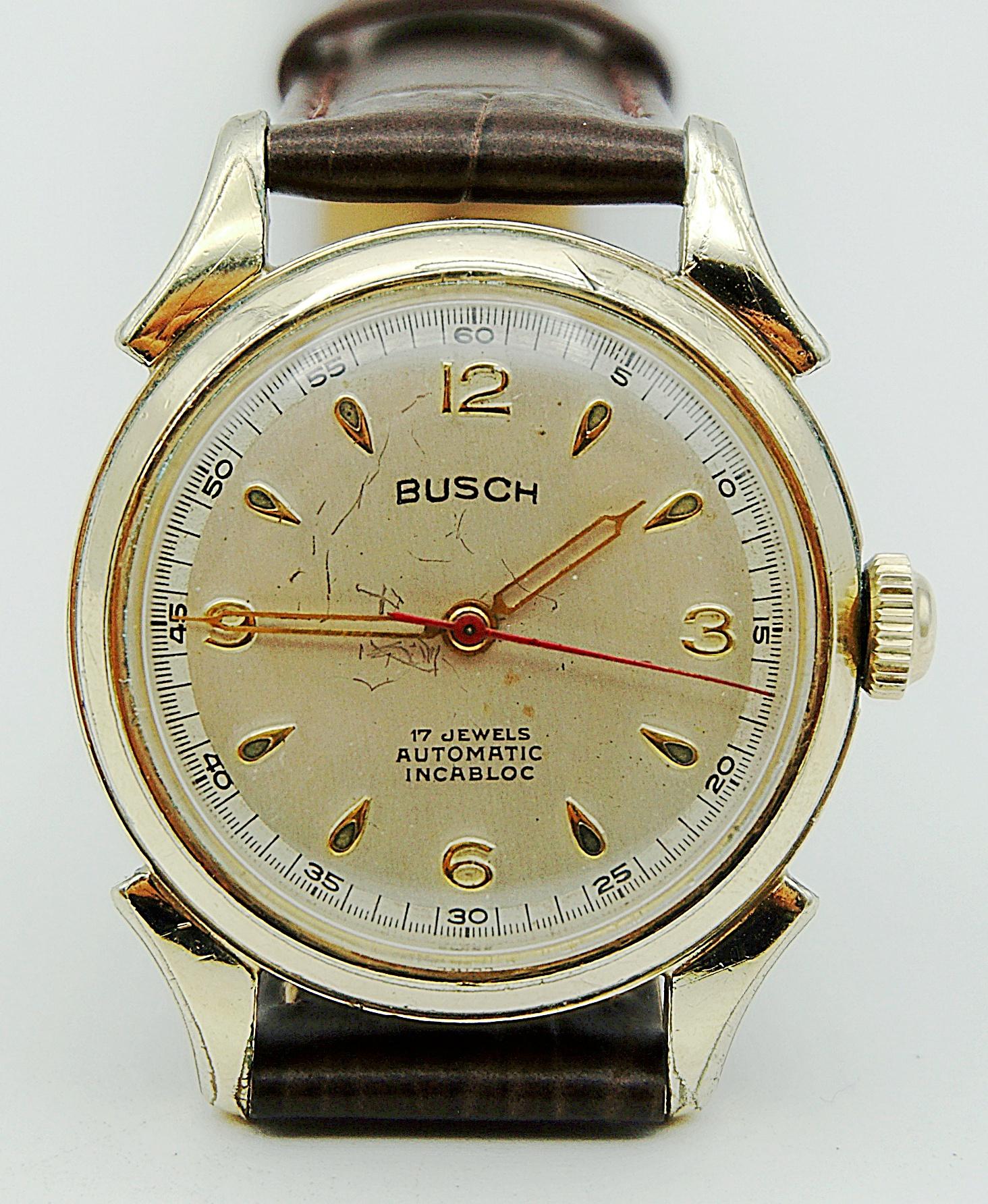 นาฬิกาเก่า BUSCH ออโตเมติก