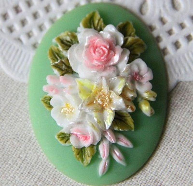 ซิลิโคนสำหรับทำฟองดองท์ กัมเพส รูปดอกไม้