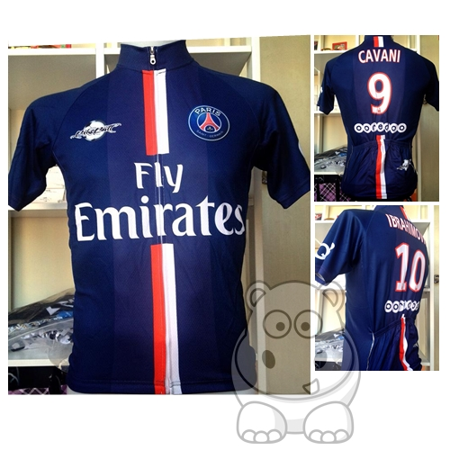 เสื้อปั่นจักยาน Paris
