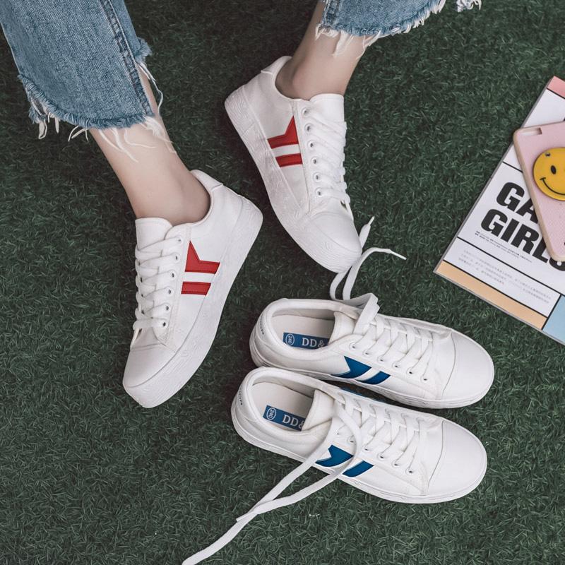 DD&OO รองเท้าผ้าใบหญิง รหัส 7819 (รอสินค้า 15-20วัน)
