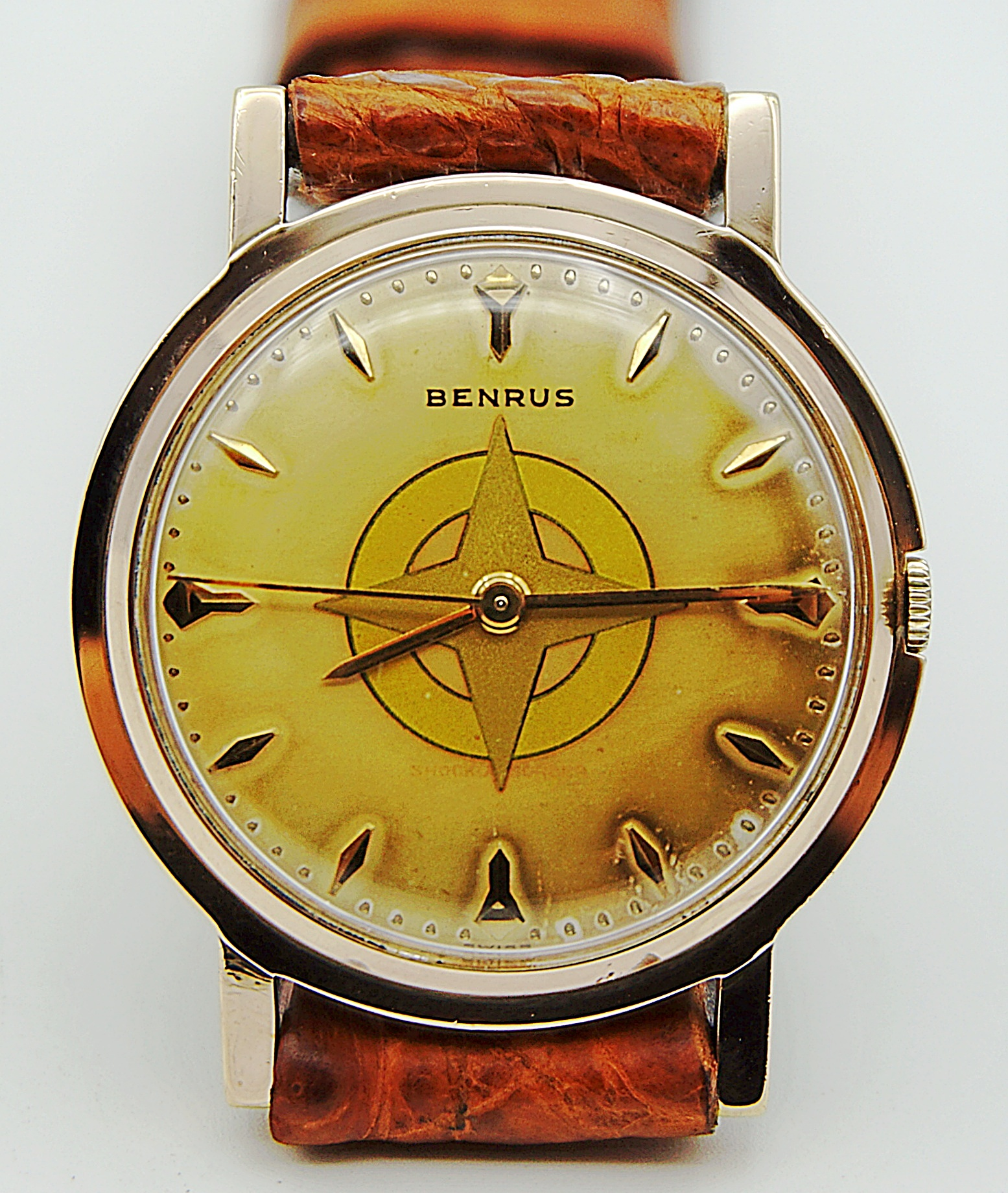 นาฬิกาเก่า BENRUS ไขลาน