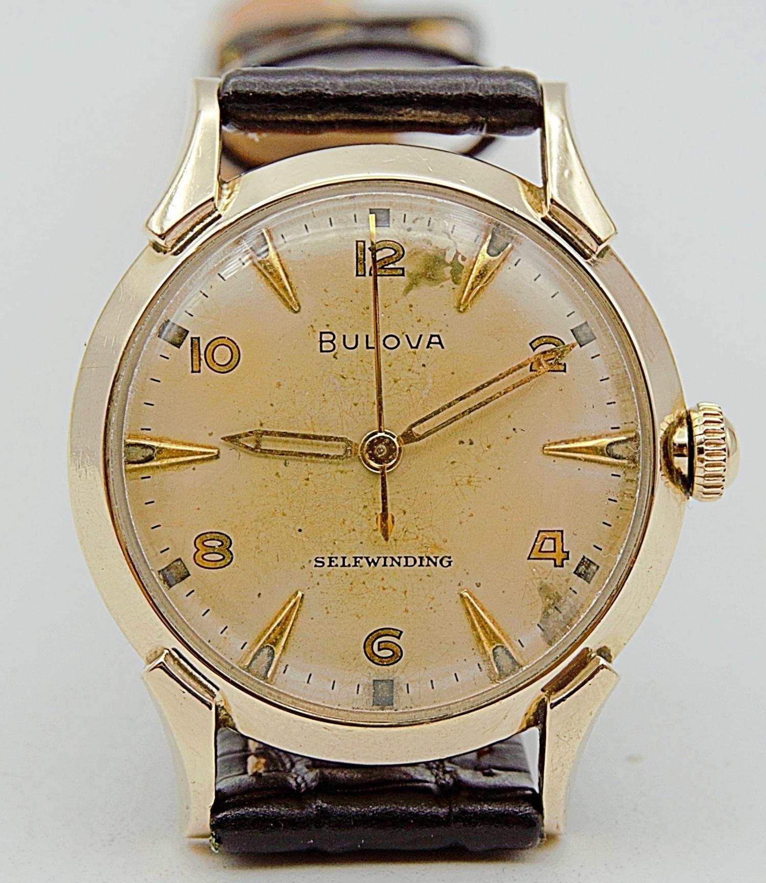 นาฬิกาเก่า BULOVA อโตเมติก
