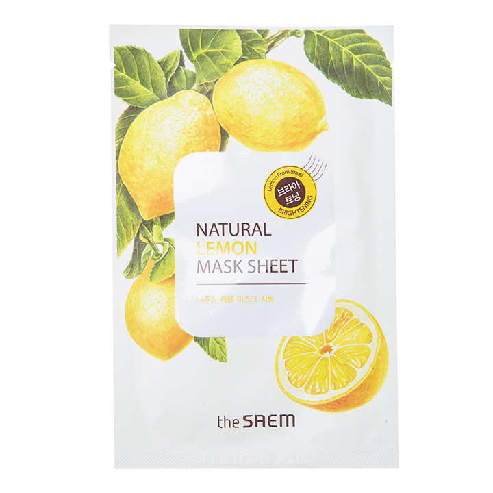 The Saem Natural Lemon Mask Sheet