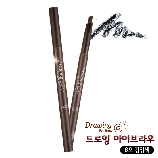 Etude House Drawing Eye Brow #6 Black สีดำ