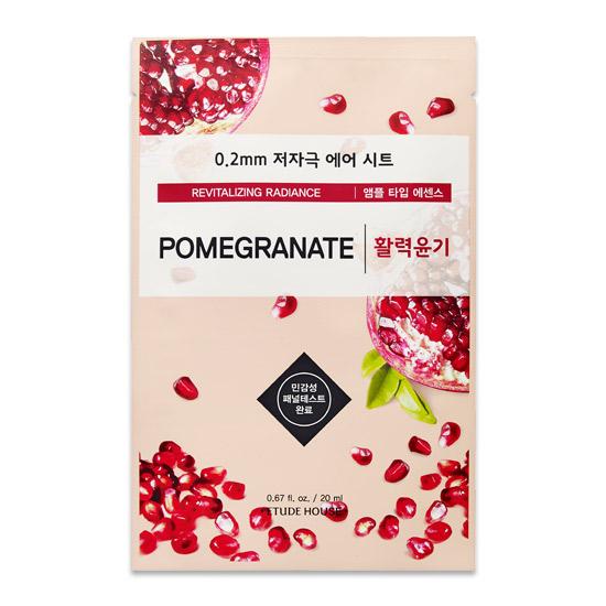 Etude House Revitalizing Radiance Pomegranate Mask Sheet 20 ml.