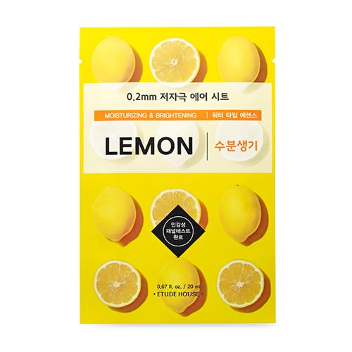 Etude House Moisturizing&Brightening Lemon Mask Sheet 20 ml.