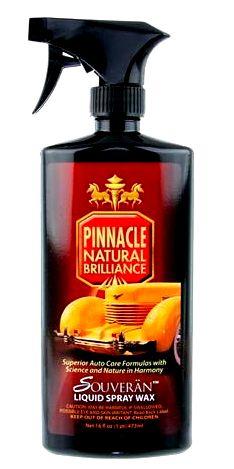 Pinnacle Souveran Liquid Spray Wax New Formula!