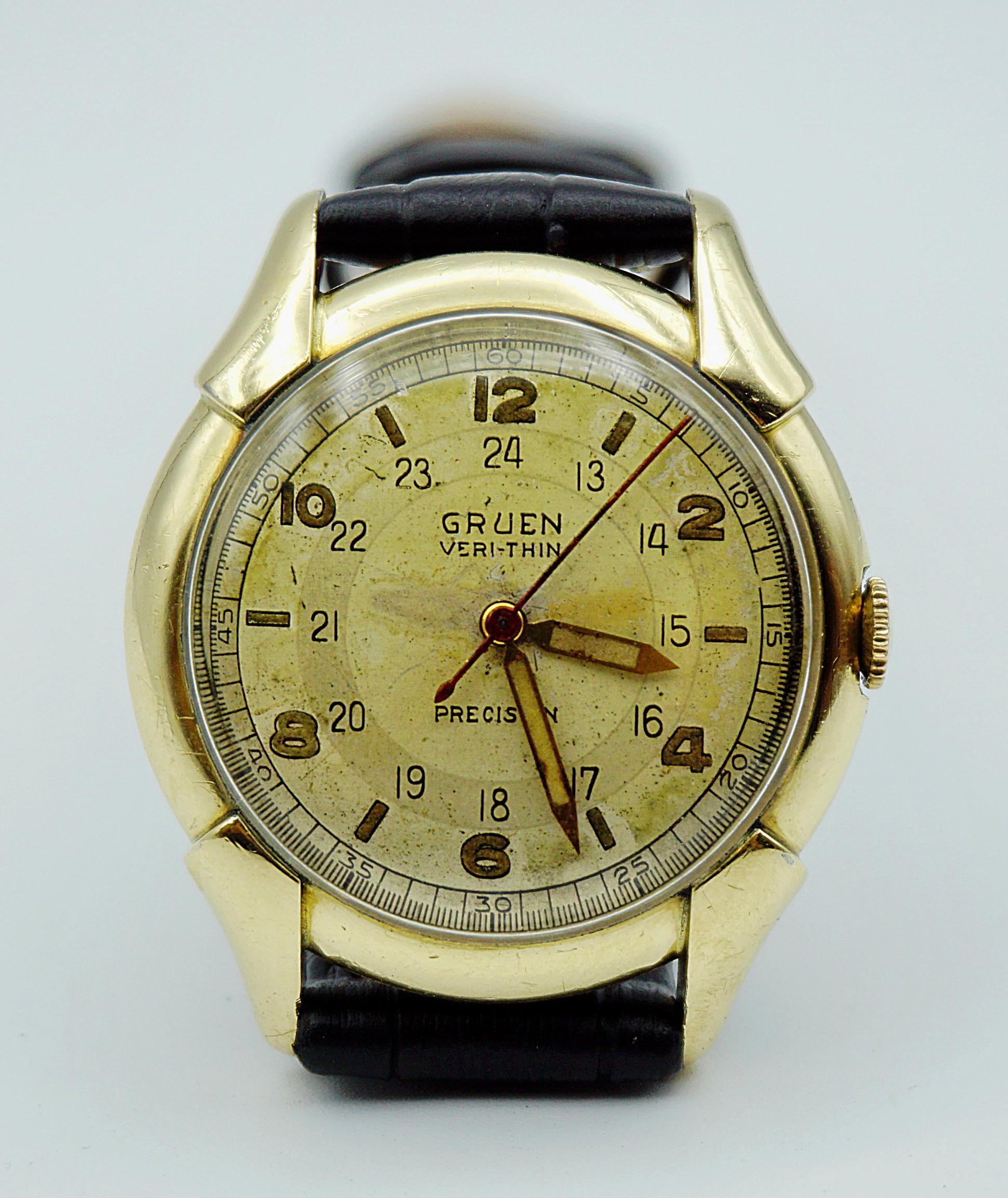 นาฬิกาเก่า GRUEN ไขลาน
