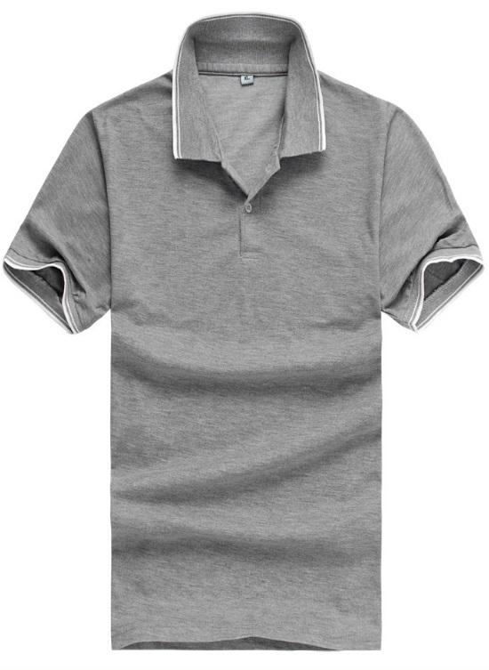 fashion เสื้อโปโล แขนสั้น คอปก รหัส 1376 (รอสินค้า15-20วัน)