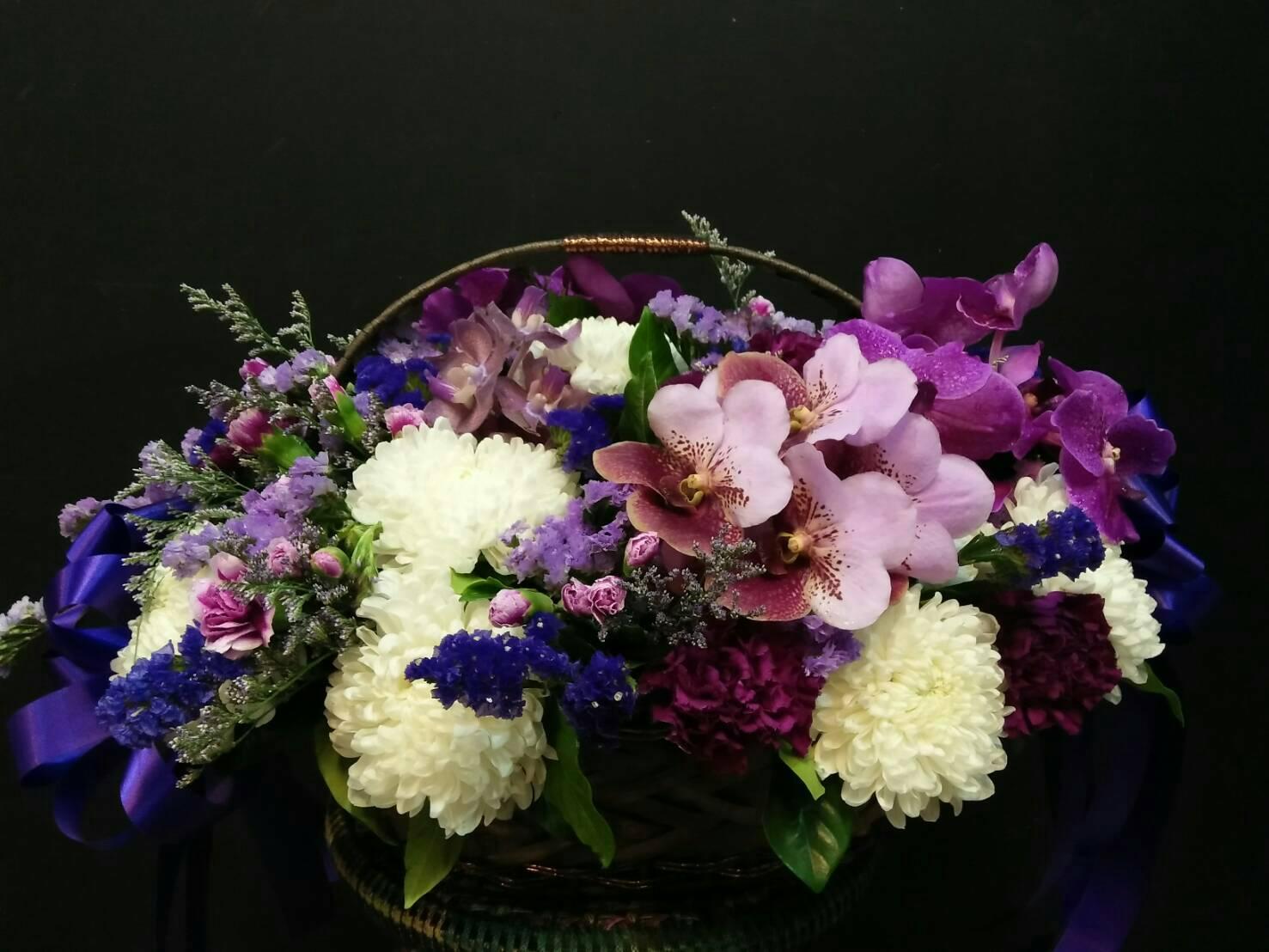 กระเช้าดอกไม้10