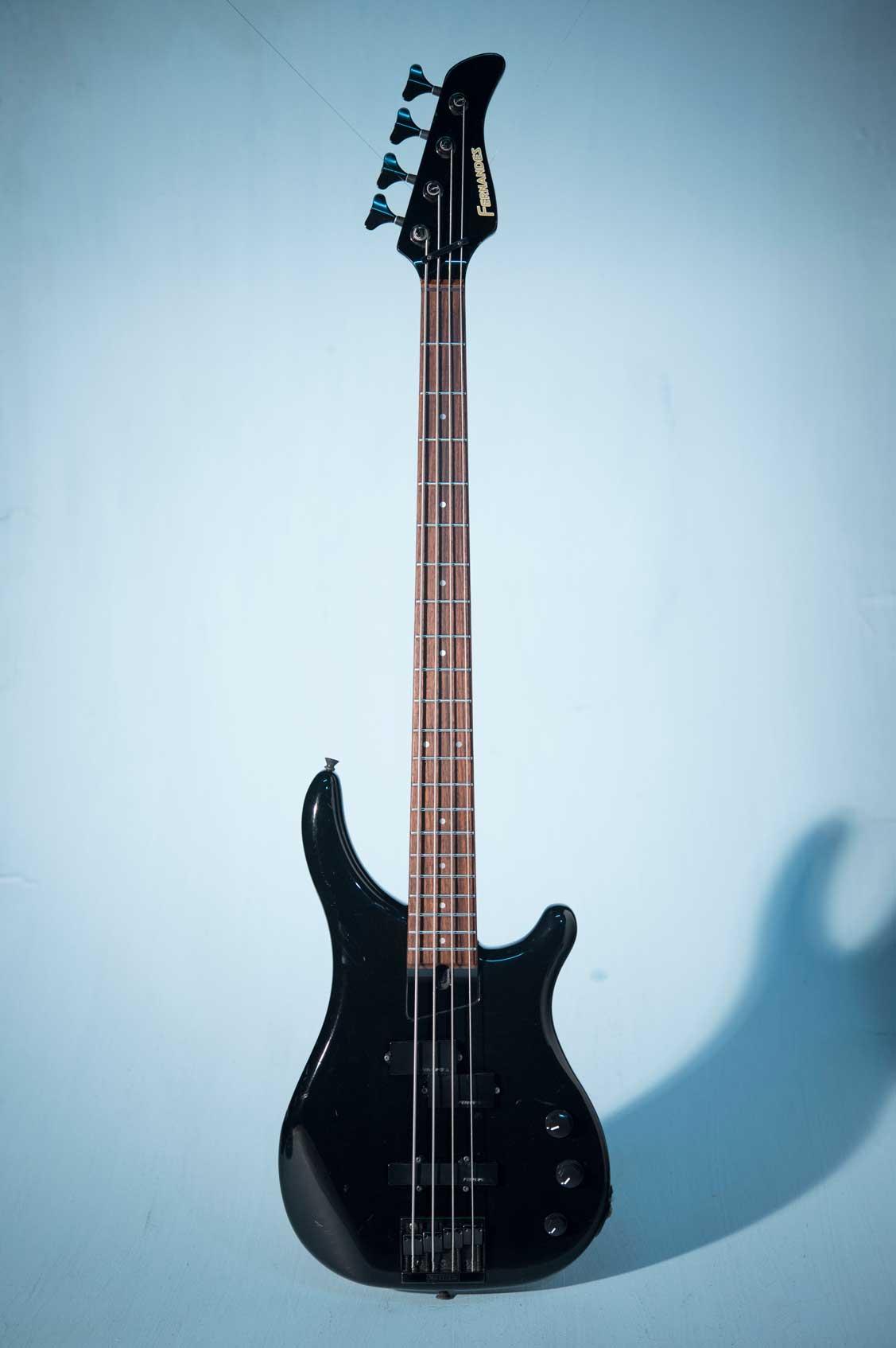กีต้าร์ Bass ไฟฟ้ามือสอง FERNANDES FRB-55 BlackNo.2