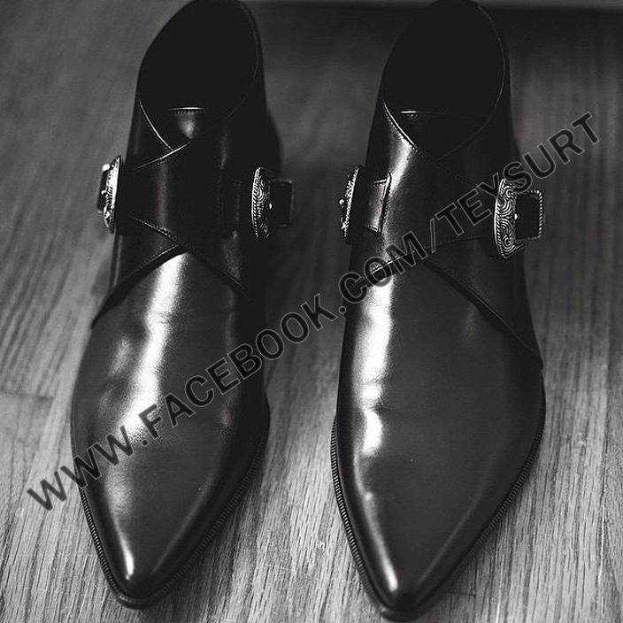 รองเท้าSAINT LAURENT-DUCKIES BOOTS 30 MM (1:1)