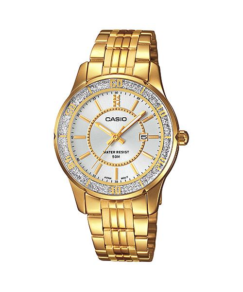 นาฬิกาข้อมือผู้หญิงCasioของแท้ LTP-1358G-4AVDF CASIO นาฬิกา ราคาถูก ไม่เกิน สามพัน