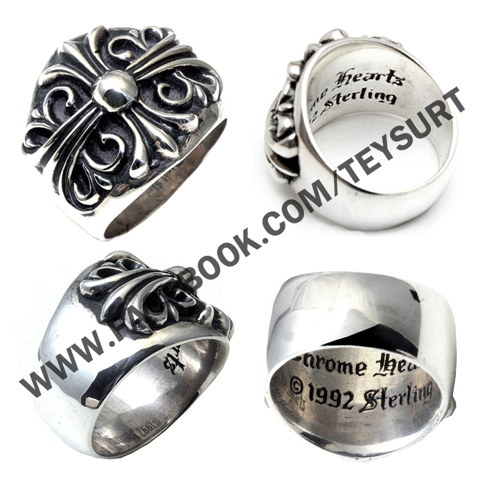 แหวนChrome Hearts Keeper ring