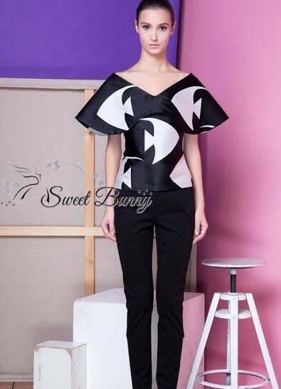เสื้อผ้าแฟชั่น พร้อมส่ง เซ็ทเสื้อ+กางเกง งานพิมพ์สีสวยคมชัด
