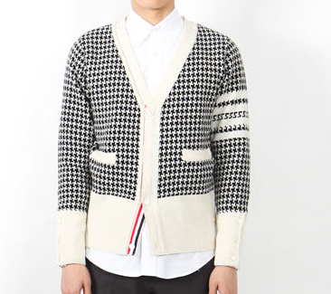 เสื้อThom Browne Houndstooth Jacquard Cardigan