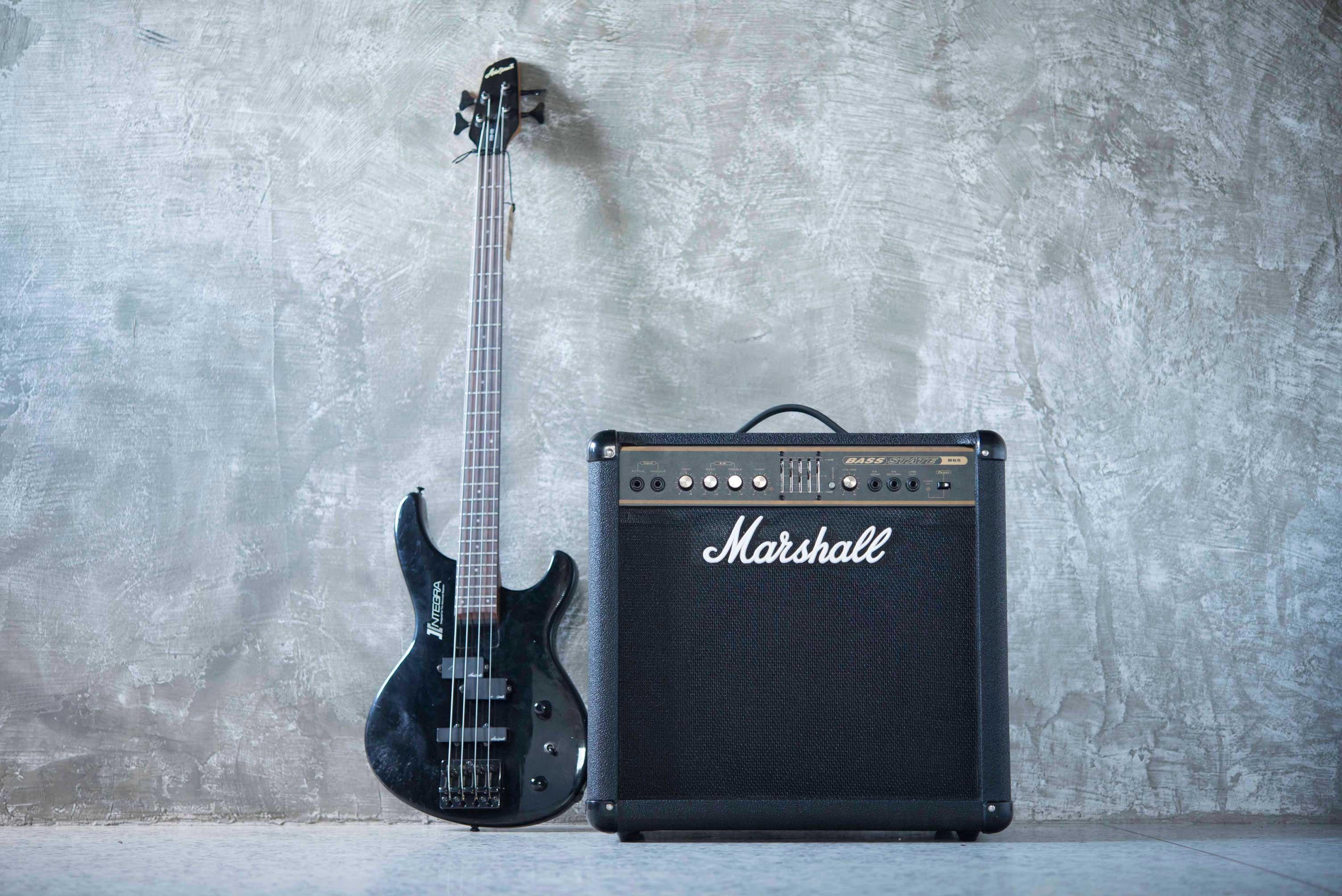 แอมป์เบสไฟฟ้ามือสอง Marshall Bass State B65