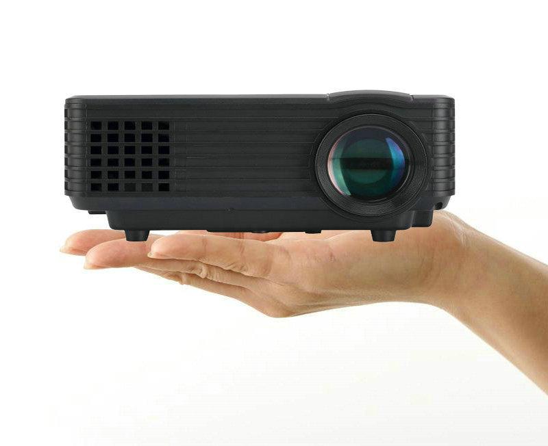 โปรเจคเตอร์ All in One รุ่น Rd805 ดูทีวีได้สว่างสูงถึง 800 ลูเมน