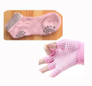 (พร้อมส่ง) YKSM30-81 ถุงมือ ถุงเท้าโยคะ กันลื่น