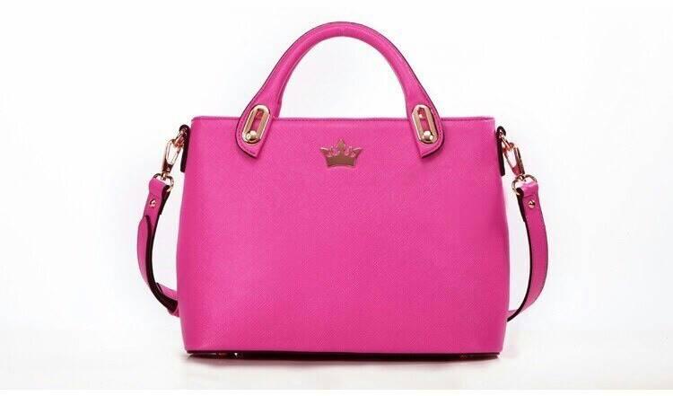 กระเป๋า แบรนด์ axixi งานนำเข้า ขนาด 30*22.5*11ซม. สี สีชมพู ราคา 1,450 บาท