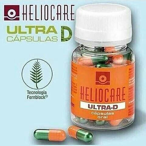 พร้อมส่ง วิตามินป้องกันแสงแดดheliocare ultra D
