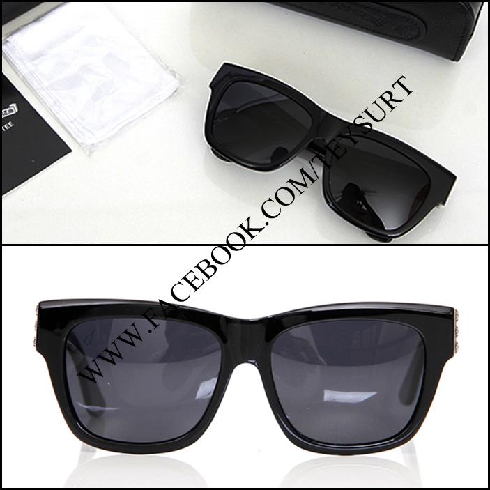 แว่นตา Chrome Hearts Slhore Black Sunglasses*Premuim*