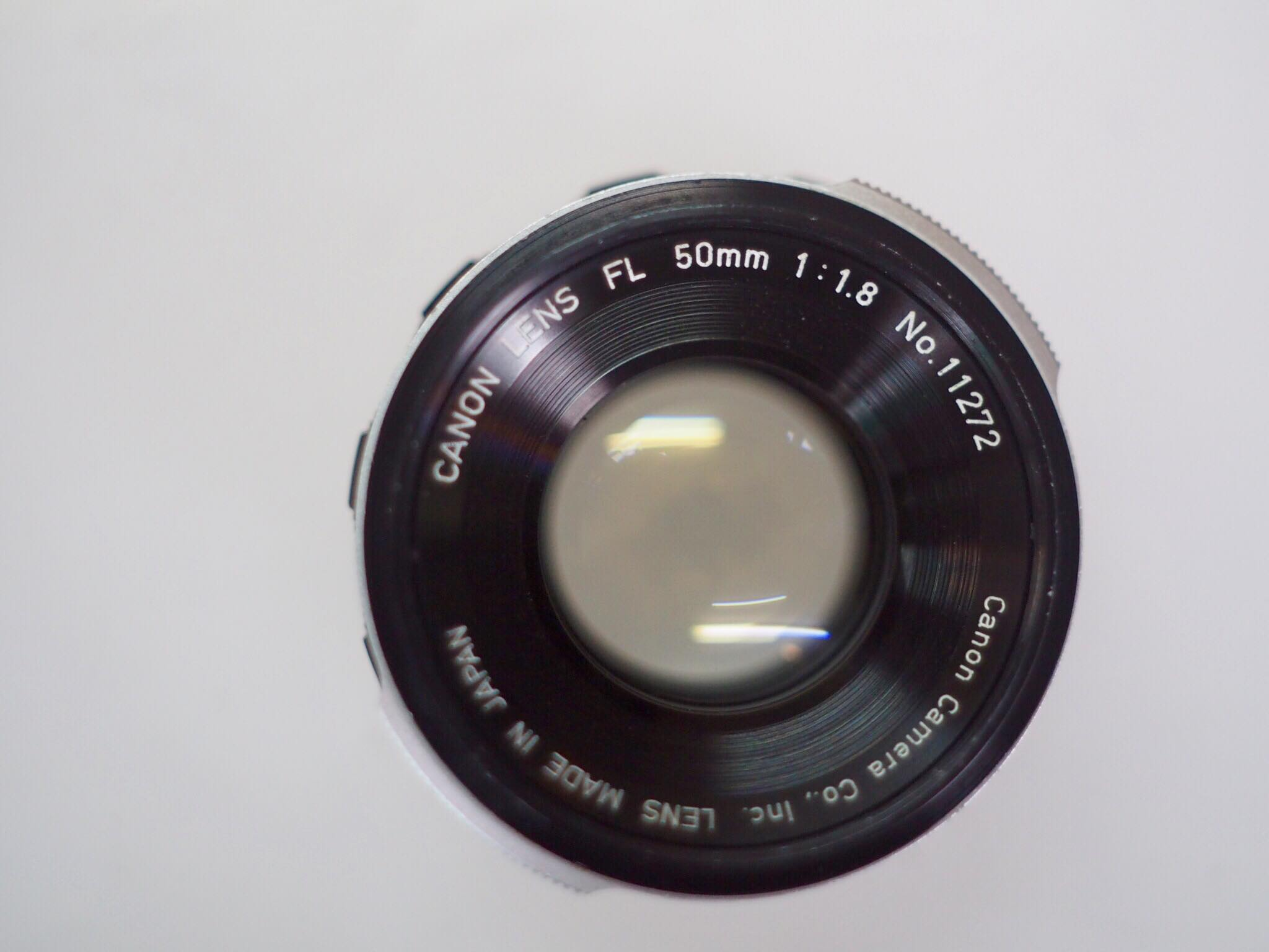 CANON LENS FL 50MM.F1.8 FL MOUNT
