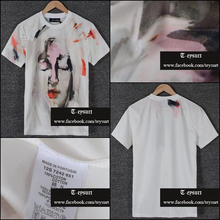 เสื้อยืดGivenchy Abstact Madonna