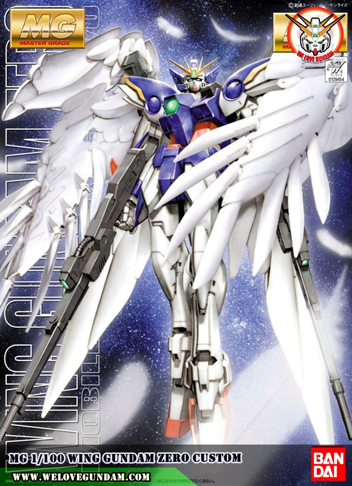 MG 1/100 WING GUNDAM ZERO CUSTOM