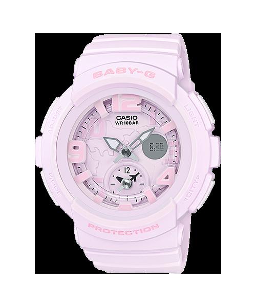 BaByG Baby-Gของแท้ ประกันศูนย์ BGA-190BC-4B เบบี้จี นาฬิกา ราคาถูก ไม่เกิน สี่พัน