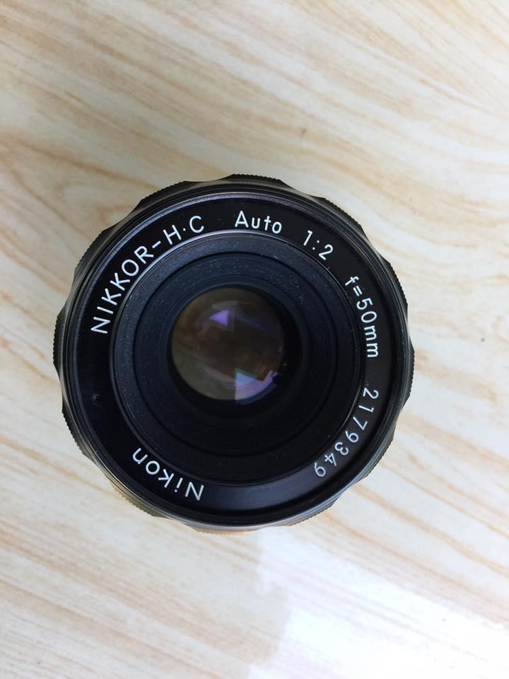 Nikon-H.C Auto 50mm F2