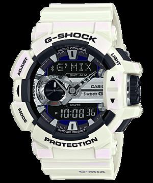 GShock G-Shockของแท้ G-MIX Bluetooth GBA-400-7C EndYearSale