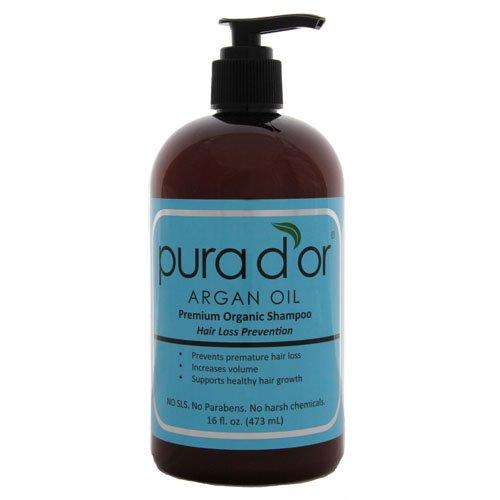 แชมพูแก้ผมร่วงที่ดีที่สุด DHT Hair Loss Prevention Premium Organic Shampoo Pura d'or