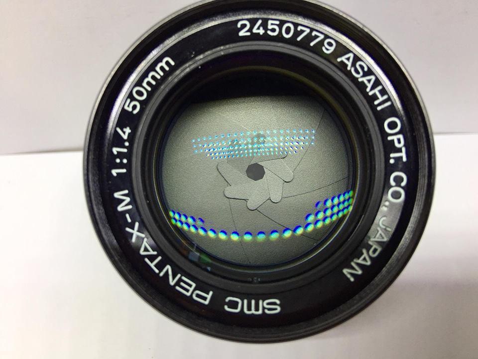 SMC PENTAX-M 50MM.F1.4 PK MOUNT