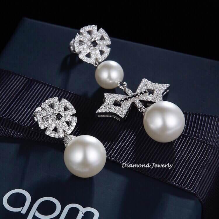 พร้อมส่ง APM Necklace & Earring